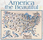America the Beautiful - (Cross Stitch)