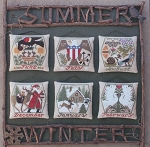Summer & Winter - (Cross Stitch)