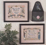 Wedding & Birth Samplers III - (Cross Stitch)