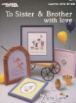 To sister & Brother with Love - (Cross Stitch)