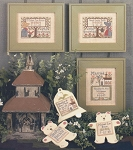 Wedding & Birth Samplers IV - (Cross Stitch)