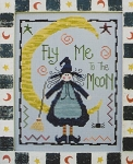 Fly Me To the Moon - (Cross Stitch)