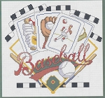 Baseball Cards - (Cross Stitch)