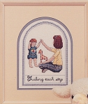 Mother's Moments Guiding Step - (Cross Stitch)