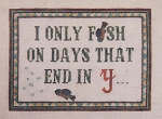 Fish Days - (Cross Stitch)