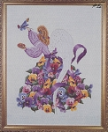 Pansy Angel - (Cross Stitch)