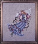 Morning Glory Angel - (Cross Stitch)