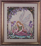 Lily Pond Dreams Fairy - (Cross Stitch)