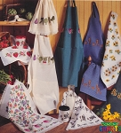 Aprons & More - (Cross Stitch)
