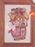 Little Miss Bear Kit - (Cross Stitch)