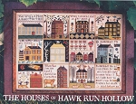 The Houses of Hawk Run Hollow - (Cross Stitch)