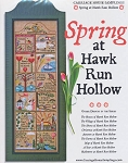Spring at Hawk Run Hollow - (Cross Stitch)
