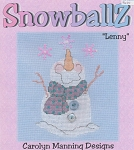 Lenny - SnowballZ - (Cross Stitch)