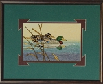 Mallard Reflection - (Cross Stitch)