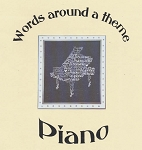 Piano - Words around a Theme - (Cross Stitch)