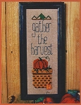 Gather the Harvest - (Cross Stitch)