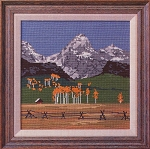 The Grand Teton - (Cross Stitch)