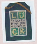 LUCK - (Cross Stitch)