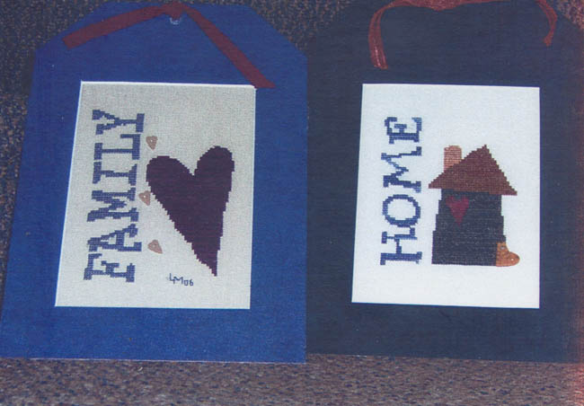 Home and Hearth - (Cross Stitch)