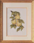 Pear Harvest - (Cross Stitch)