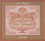 Give Thanks - (Cross Stitch)
