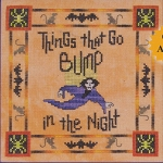 Things That Go Bump - (Cross Stitch)