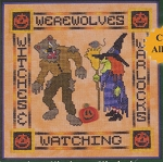 Werewolves, Witches & Warlocks - (Cross Stitch)