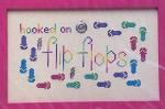 Hooked on Flip Flops - (Cross Stitch)