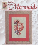 Letters from Mermaids - D - (Cross Stitch)