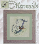 Letters From Mermaids- F - (Cross Stitch)
