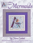Letters From Mermaids- A - (Cross Stitch)