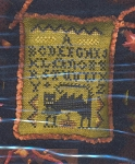 September Wicked Cat Sampler - (Cross Stitch)