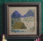 Summer Serenity - (Cross Stitch)