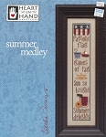 Summer Medley - (Cross Stitch)
