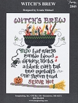 Witch's Brew - (Cross Stitch)