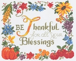 Thankful - (Cross Stitch)