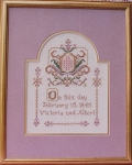 On this Day Wedding and Special Occasion Sampler - (Cross Stitch)