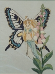 Fox Glove Fairy - (Cross Stitch)