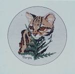 Margay - (Cross Stitch)