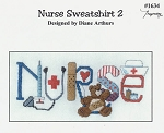 Nurse Sweatshirt 2 - (Cross Stitch)