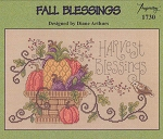 Fall Blessings - (Cross Stitch)