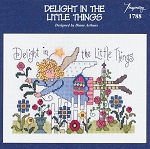 Delight in the Little Things - (Cross Stitch)