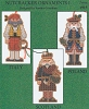 Nutcracker Ornaments I - (Cross Stitch)