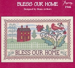 Bless our Home - (Cross Stitch)