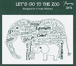 Let's Go To The Zoo - (Cross Stitch)