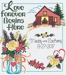 Country Wedding - (Cross Stitch)