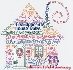 Let's Have Fun at Grandma's - (Cross Stitch)