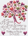 Love Story Wedding - (Cross Stitch)
