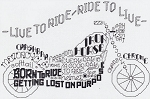 Let's Ride - (Cross Stitch)