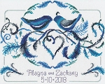 Love Birds Wedding - (Cross Stitch)